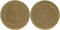 Kaiserreich  1897 A  1 Pfennig  1897A vz/prfr !!! 7,00 EUR 