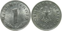 Drittes Reich  1 Pfennig  1946G prfr/st