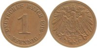 Kaiserreich  1916 J  1 Pfennig  1916J f.prfr. 19,00 EUR 