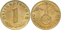 Drittes Reich  1 Pfennig  1939J f.prfr