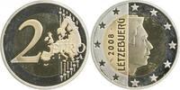 2 Euro   2008 Luxemb. PP ohne Randinschrfit Archiv Franquinet PP  485,00 EUR  +  8,00 EUR shipping