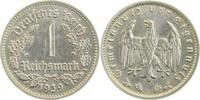 1939 G  1 Reichsmark 1939G prfr/f.prfr !!! prfr  /  f.prfr  345,00 EUR