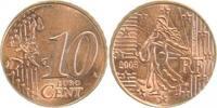 10C. 2005 Frankr. a. 2 Cnt Rohling Rille !!!!   360,00 EUR