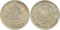 0.5 Mark 1905 F  1905F vz/stgl. vz  /  stgl.  9,00 EUR  zzgl. 6,00 EUR Versand