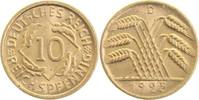 10 Pfennig 1925 D  1925D prfr prfr  13,00 EUR  zzgl. 6,00 EUR Versand