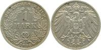 1 Mark 1896 E  1896E ss+ ss+  16,00 EUR  +  8,50 EUR shipping