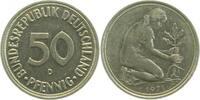 50 Pfennig 1971 D  1971D kleines Münzzeichen ss ss  29,00 EUR  zzgl. 6,00 EUR Versand