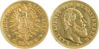 5 Mark 1877 F d Karl v. W. 1877F Gold f.vz f.vz  480,00 EUR kostenloser Versand