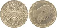 Kaiserreich 2 Mark 1899F Wilh.II Württ. vz/st! !!!! ca. S100 Unikat Archiv F.
