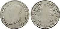 BOLIVIEN 4 Soles 1856, FJ. Sehr sch&ouml;n. Republik. 30,00 EUR 