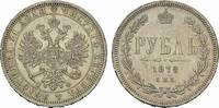 Rubel 1878, St.Petersburg. RUSSLAND Alexander II., 1855-1881. Fast vorz... 185,00 EUR  Excl. 6,70 EUR Verzending