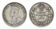 10 Cents 1915. KANADA George V, 1910-1936. Vorzüglich.  100,00 EUR
