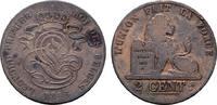 Ku.-2 Centimes 1846. BELGIEN Leopold I., 1830-1865. Sehr schön-vorzügli... 12,00 EUR  Excl. 6,70 EUR Verzending