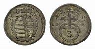 3 Pfennig 1699. SACHSEN Albrecht III., 1680-1699. Prägefrisch.  145,00 EUR  zzgl. 4,50 EUR Versand