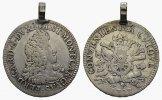 Scudo 1707. ITALIEN Ferdinando Carlo, 1669-1707. Sehr schön.  380,00 EUR  Excl. 6,70 EUR Verzending