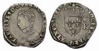 Teston 1565, L-Bayonne. FRANKREICH Charles IX, 1560-1574. Sehr schön .  150,00 EUR  Excl. 6,70 EUR Verzending