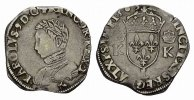Teston 1565, L-Bayonne. FRANKREICH Charles IX, 1560-1574. Sehr schön .  150,00 EUR  zzgl. 4,50 EUR Versand