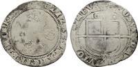 6 Pence 1602. GROSSBRITANNIEN Elizabeth I, 1558-1603. Schön.  90,00 EUR  Excl. 6,70 EUR Verzending