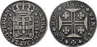 400 Reis 1815, Lissabon. PORTUGAL Johann, Prinzregent 1799-1816. Patina... 120,00 EUR  zzgl. 4,50 EUR Versand
