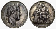 Silbermedaille (v.Domard) 1838. FRANKREICH Louis Philippe, 1830-1848. F... 1250,00 EUR  excl. 6,70 EUR verzending
