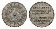 Silberabschlag des Dukaten 1817. NEUSTADT BEI DRESDEN  Vorzüglich.  85,00 EUR  excl. 6,70 EUR verzending