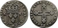 XVI Denier 1708, Strassburg. FRANKREICH Louis XIV, 1643-1715. Sehr schö... 190,00 EUR  Excl. 6,70 EUR Verzending