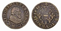 Double Tournois 1636. FRANKREICH/FEODALES Maximilian I. de Bethune, 159... 85,00 EUR  Excl. 6,70 EUR Verzending