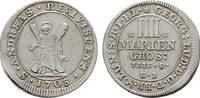 4 Mariengroschen 1708, Clausthal. BRAUNSCHWEIG-LÜNEB. Georg I. Ludwig, ... 150,00 EUR  Excl. 6,70 EUR Verzending