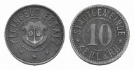 BADEN 10 Pfennig o.J. Vorz&uuml;glich. KEHL AM RHEIN 20,00 EUR 