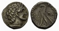 AEGYPTUS AR-Tetradrachme 63 - 62 (Jahr  19), Alexa Vorz&uuml;glich Ptolemaios... 360,00 EUR 