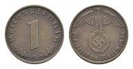 1 Reichspfennig 1936, G. DRITTES REICH  Stempelglanz -  160,00 EUR  zzgl. 4,50 EUR Versand