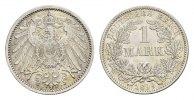 1 Mark 1899, F. Deutsches Reich  Vorzüglich +  95,00 EUR  excl. 6,70 EUR verzending