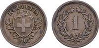 Rappen 1905, B. SCHWEIZ  Vorzüglich +  18,00 EUR  Excl. 6,70 EUR Verzending