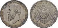 3 Mark 1911, A. Schaumburg-Lippe Georg, 1893-1911. Feine Patina. Stempe... 330,00 EUR  zzgl. 4,50 EUR Versand