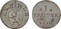 Kreuzer 1810. HESSEN Ludwig I., 1806-1830. Fast vorzüglich.  60,00 EUR  zzgl. 4,50 EUR Versand
