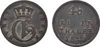 Schilling (1/48 Taler) 1845. MECKLENBURG Georg, 1816-1860. Sehr schön +.  18,00 EUR  zzgl. 4,50 EUR Versand