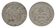 6 Kreuzer 1816. BADEN Karl Ludwig Friedrich, 1811-1818. Fast Stempelgla... 125,00 EUR  Excl. 6,70 EUR Verzending