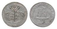6 Kreuzer 1810. WÜRTTEMBERG Friedrich II. (I.), 1797-1806-1816. Fast St... 180,00 EUR  Excl. 6,70 EUR Verzending