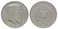 5 Mark 1907, G. Baden Friedrich I., 1852-1907. Fast vorzüglich  /  Vorz... 140,00 EUR  zzgl. 4,50 EUR Versand
