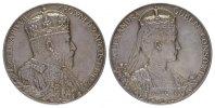 Silbermedaille (G.W. de Saulles) 1902. GROSSBRITANNIEN Edward VII, 1901... 220,00 EUR  zzgl. 4,50 EUR Versand