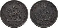 1/2 Penny 1854. KANADA  Sehr schön +.  20,00 EUR  Excl. 6,70 EUR Verzending