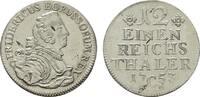 1/12 Taler 1753, C-Kleve. BRANDENBURG-PREUSSEN Friedrich II., der Große... 150,00 EUR  zzgl. 4,50 EUR Versand