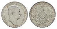 2 Mark 1906, E. Sachsen Friedrich August III., 1904-1918. Vorzüglich-st... 110,00 EUR