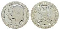 3 Mark 1910, A. Preussen Wilhelm II., 1888-1918. Fast Stempelglanz.  80,00 EUR  Excl. 6,70 EUR Verzending