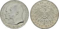 5 Mark 1904, A. Hessen Ernst Ludwig, 1892-1918. Vorzüglich-stempelglanz.  180,00 EUR  Excl. 6,70 EUR Verzending