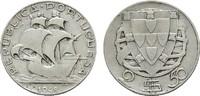 2 1/2 Escudos 1948. PORTUGAL  Sehr schön.  15,00 EUR