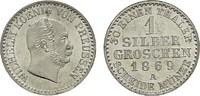 Silbergroschen 1869 A. BRANDENBURG-PREUSSEN Wilhelm I., 1861-1888. Fast... 20,00 EUR  Excl. 6,70 EUR Verzending