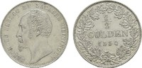 1/2 Gulden 1854. SACHSEN Bernhard Erich Freund, 1803-1866. Vs. Kl. Krat... 75,00 EUR  excl. 6,70 EUR verzending