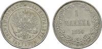 1 Markka 1890. FINNLAND Alexander III. von Rußland, 1881-1894. Vorzügli... 125,00 EUR  Excl. 6,70 EUR Verzending