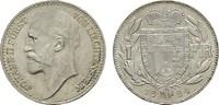 1 Frank 1924. LIECHTENSTEIN Johann II., 1858-1929. Stempelglanz.  150,00 EUR  Excl. 6,70 EUR Verzending